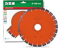 Круг алмазный Distar 1A1RSS/C3 Sandstone HIT 3000 сегментный отрезной диск 400 мм по песчанику