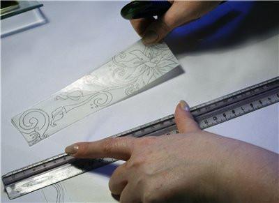 Калька  для карандаша, 640 мм х 40 м, плотность 40 г/ м 2