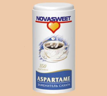 Заменитель сахара (подсластит)НоваСвит Аспартам 0,06г№350таб
