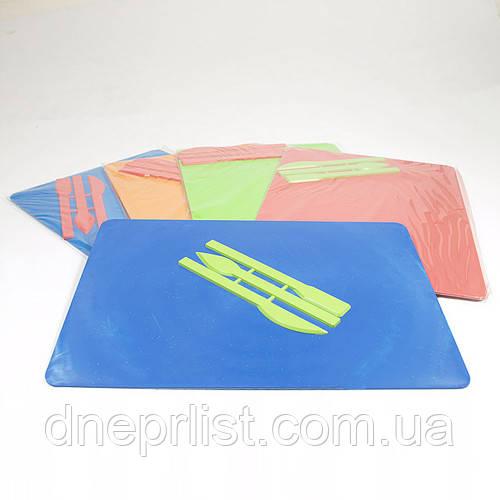 Доска для пластилина 185*250 мм + 3 стека