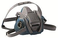 3M™ 6502QL - Полумаска  без фильтра, средний размер М