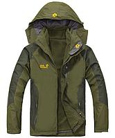 Мужская куртка JACK WOLFSKIN. Куртка два в одном  Gore-Tex. Стильная зимняя куртка 2 в 1.