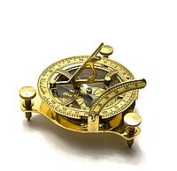Солнечные часы компас бронзовые