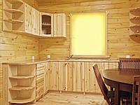 Кухни деревянные из ясеня