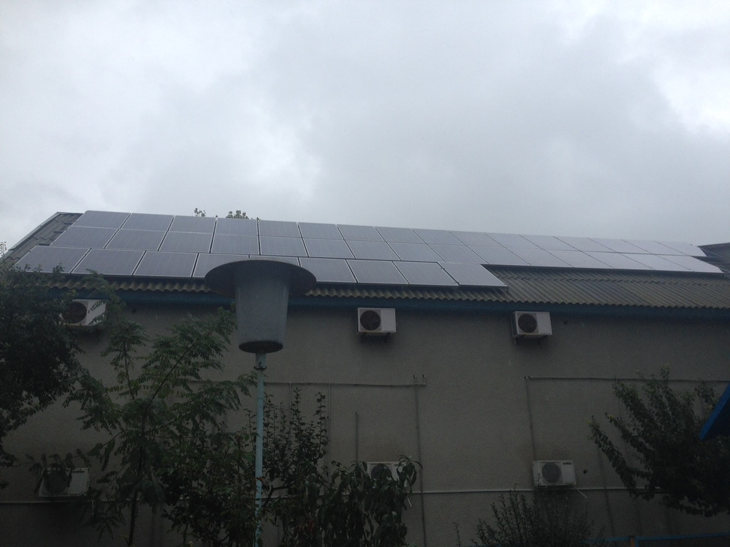 Солнечная электростанция 20 кВт, п. Затока, Одесская обл.