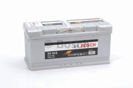 "Аккумулятор BOSCH S5 Silver Plus 110Ah , EN920 , правый ""+"" , ( Bosch 0 092 S50 150 ) 393*175*190(Д*Ш*В)"