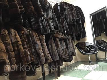 Новый ассортимент норковых шуб и полушубков в магазине 20 - 21 октября