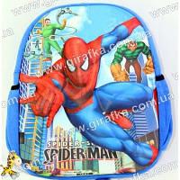 Рюкзак 3D Spider-man Спайдермен синий