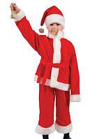 Детский карнавальный костюм Деда Мороза, костюм Санта Клауса