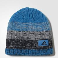 Теплая шапка-бини адидас Climaheat Fade AY8472
