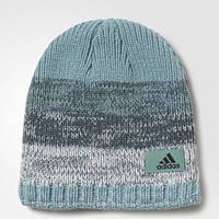 Теплая шапка-бини адидас Climaheat Fade AY8474