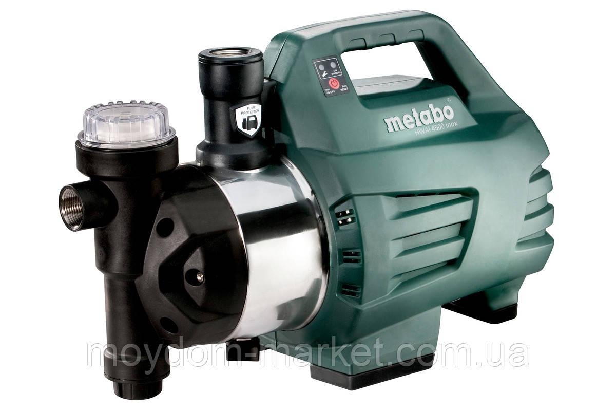 Насос-автомат HWAI 4500 Inox ((1300Вт; вис.48м; 4,8бар;4500л/год)) 600979000