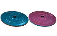 Диск здоровья металлический Грация UR FI-3796 (28 см, металл)