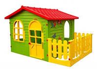 Детский игровой домик с забором XXL