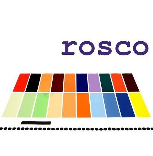 Набор цветных гелевых фильтров Rosco 20 шт