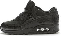 Кроссовки Nike Air Max 90 Premium Black Crocodile - 1430