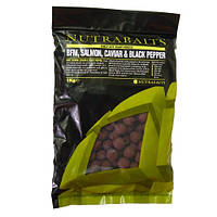 Nutrabaits Бойлы Salmon,Caviar & Black Pepper Nutrabaits (Бойлы  SALMON,CAVIAR&BLAK PEPPER, 20мм, 5кг)