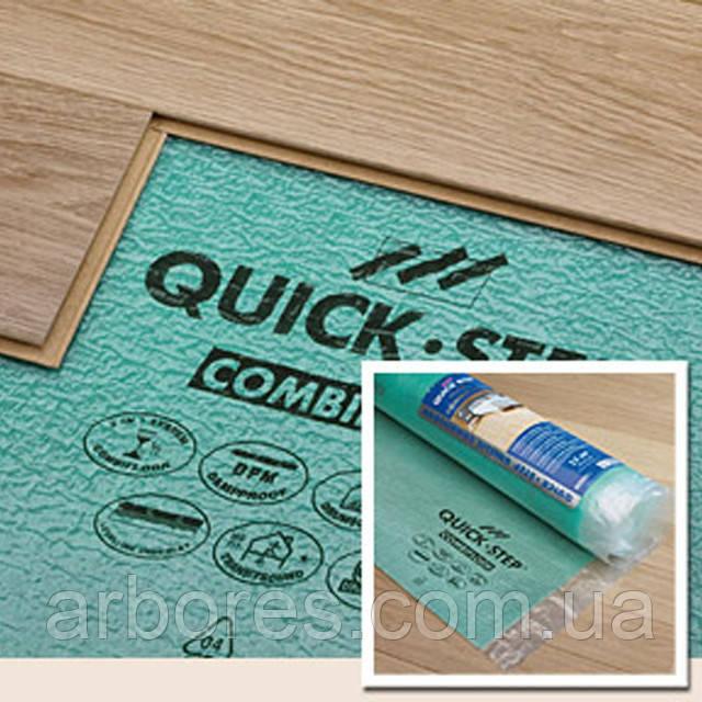 Подложка под ламинат Quick-Step Uniclic Combifloor