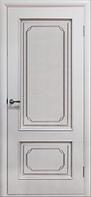 Двери шпонированные Серебрянка (белый лак) ПГ