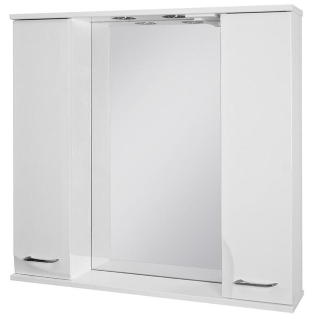Зеркальный шкаф Ювента Франческа ФШНЗ3-100 белоеи цвета