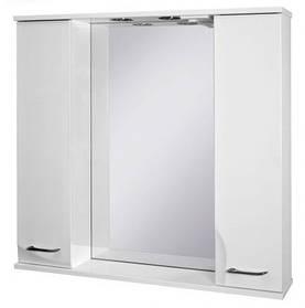 Зеркальный шкаф Ювента Франческа ФШНЗ 3-87  три цвета
