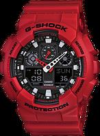 Спортивний годинник Casio G-Shock GA 100B-4ACR