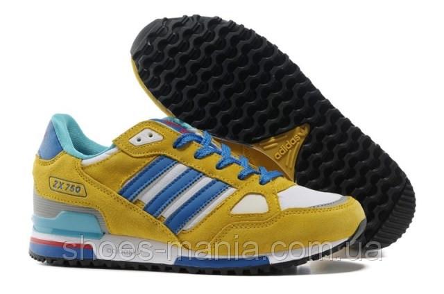 c5d1436b Мужские кроссовки Adidas ZX-750 желтые: купить в Днепропетровске и ...