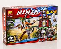 Конструктор Ninja BELA 10461 Остров Тигровая вдова
