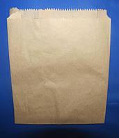 Пакет бумажный для булочек 170мм*30мм*230 мм бурый, фото 1