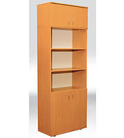 Шкаф книжный полузакрытый 2-дверный  802х403х2186 мм  (380мм внутр)
