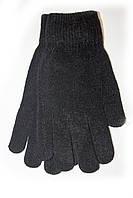 Женские вязаные перчатки Черные