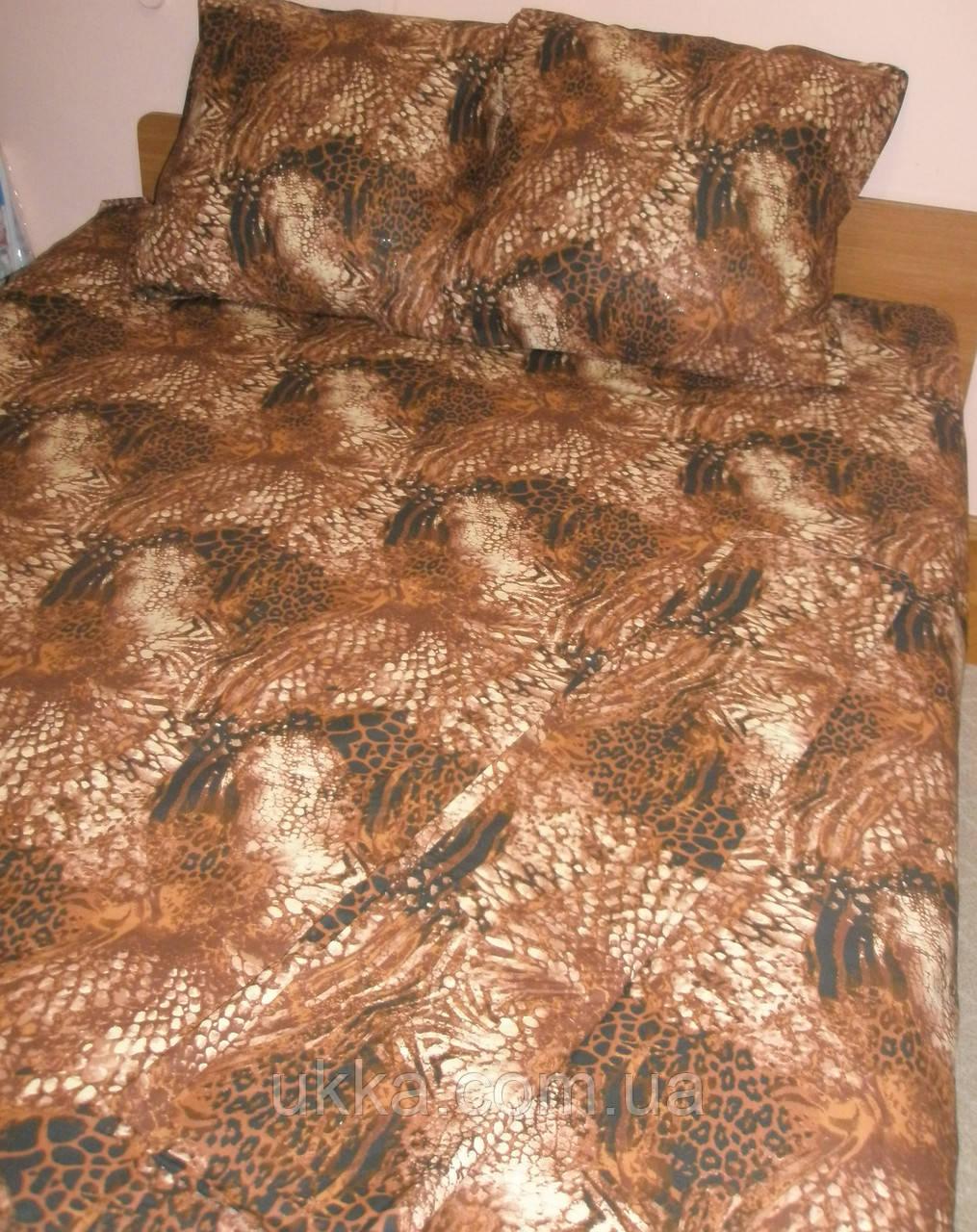 Двухспальное постельное бязьТексика