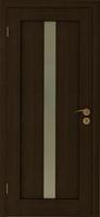 Двери экошпон Вертикаль (венге, выбеленный дуб) ПГ/ПО