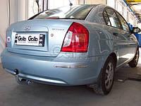 Фаркоп Hyundai Accent 2006- оцинкованный Galia