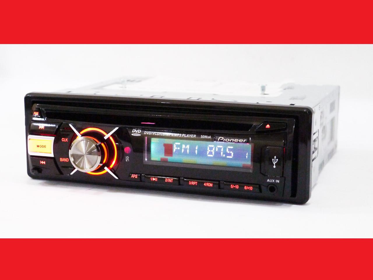 Pioneer DEH-8300UBG Автомагнитола DVD+USB+Sd+MMC
