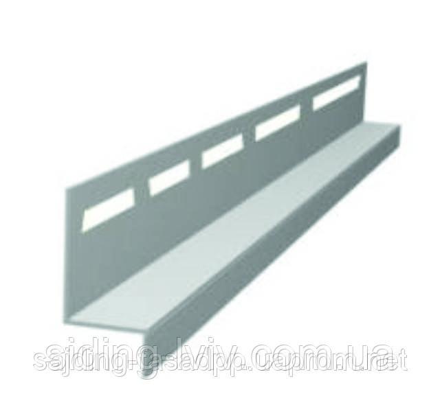 Планка відлив (навесная) для сайдинга Альта Профіль 3,66 м