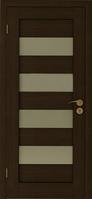 Двери экошпон Горизонталь (венге, выбеленный дуб) ПГ/ПО