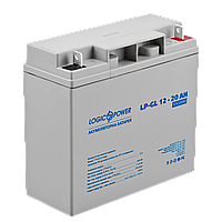 Гелевый аккумулятор LOGICPOWER LP-GL 12V 20AH