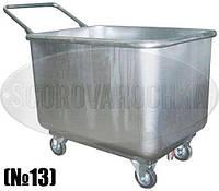 Промышленная Тележка с емкостью, грузоподъемностью 100-500 кг