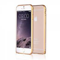 Алюминевый бампер Yoobao Soft edge для iPhone 6 plus (5.5) gold, фото 1