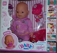 Пупс Baby Born, Оригинал, девять функций. BL-588.