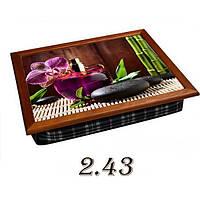 Поднос-подушка Цветы (в ассортименте), фото 1
