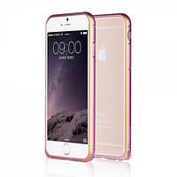 Алюминевый бампер Yoobao Soft edge для iPhone 6 plus (5.5) pink, фото 1