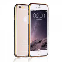 Алюминевый бампер Yoobao Soft edge для iPhone 6 plus (5.5) grey, фото 1