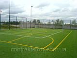 Футбольное поле искусственная трава, фото 4