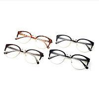 Имиджевые очки кошка круглые