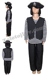 Піратський Костюм для дитини зріст 122