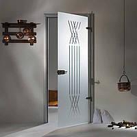 """Межкомнатная стеклянная дверь  """"XL"""""""