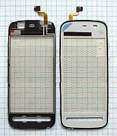 Тачскрин сенсорное стекло для Nokia 5228/5230 High Copy white