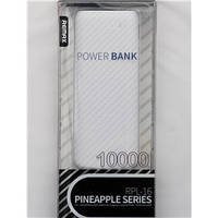 Внешний аккумулятор Power bank Remax RPL-16 10000mAh USB(2.1A)+LED (Оригинал)